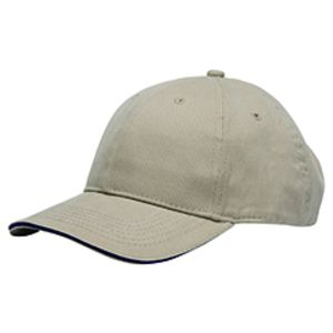 Brushed Twill Structured Sandwich Cap Thumbnail