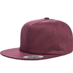 Adult Unstructured 5-Panel Snapback Cap Thumbnail