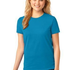 Port & Co Ladies 5.4 oz 100% Cotton T Shirt Thumbnail