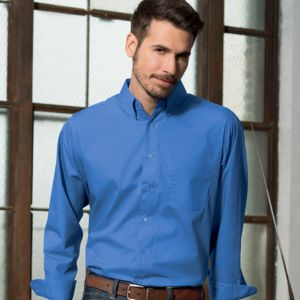 UltraClub Men's Performance Poplin Thumbnail