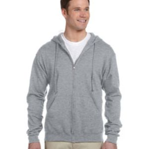 Jerzees 8 oz., 50/50 NuBlend® Fleece Full-Zip Hood Thumbnail