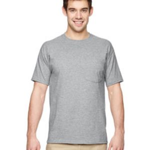 Jerzees Dri-POWER® ACTIVE 5.6 oz., 50/50 Pocket T-Shirt Thumbnail