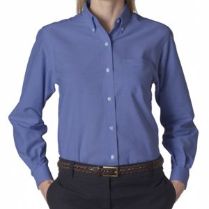 Van Heusen Ladies' Classic Long-Sleeve Oxford Thumbnail