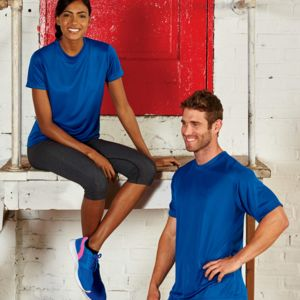 UltraClub® Men's Cool & Dry Basic Performance Tee Thumbnail