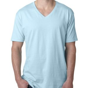 Next Level Men's Premium Fitted Short-Sleeve V-Neck Tee Thumbnail