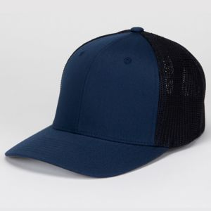 Yupoong Flexfit® Mesh Cotton Twill Trucker Cap Thumbnail