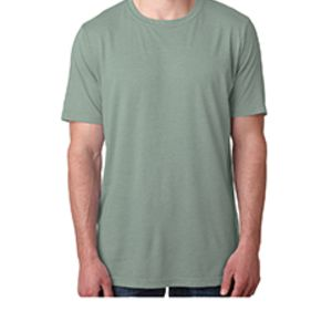 Next Level Men's Poly/Cotton Short-Sleeve Crew Tee Thumbnail
