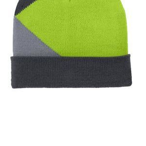 Port Authority Cuffed Colorblock Beanie Thumbnail