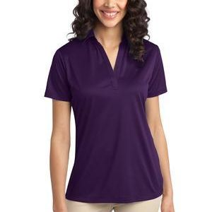 Port Authority Ladies Silk Touch™ Performance Polo Thumbnail