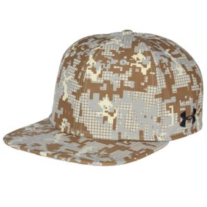 Unisex Under Armour Flat Bill Cap - Digi Camo Thumbnail