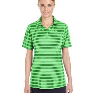 Ladies' Under Armour Tech Stripe Polo Thumbnail