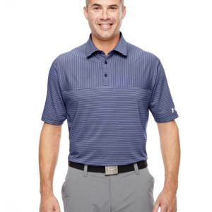 Men's Under Armour Playoff Stripe Polo Thumbnail