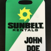 Aluminum Luggage Tag (Sublimated) Thumbnail