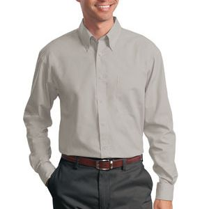 Port Authority  Long Sleeve Value Poplin Shirt Thumbnail