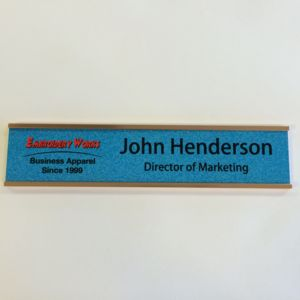 Wall Nameplate (Sublimated) Thumbnail