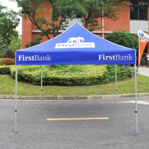 10ft x10ft Canopy Tent Full Color Print with Hexagon-Leg Aluminum Frame Thumbnail
