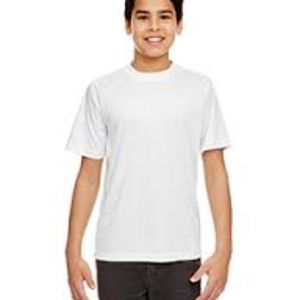 Sublimatable UltraClub® Youth Cool & Dry Sport Performance Interlock Tee Thumbnail