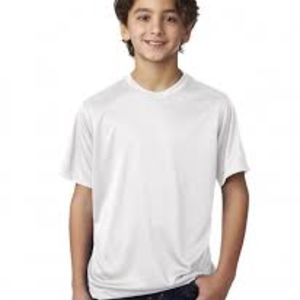 Sublimatable UltraClub® Youth Cool & Dry Basic Performance Tee Thumbnail