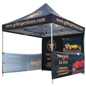 10ft x10ft Backwall for 10x10 Canopy Tent Thumbnail