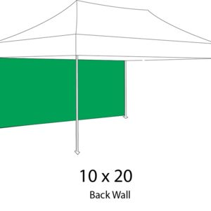10ft x20ft Backwall for 10x20 Canopy Tent Thumbnail