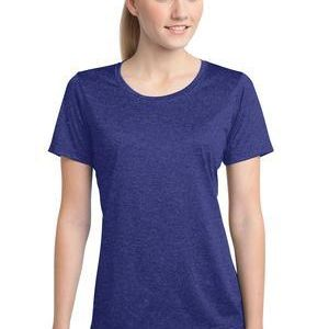 Ladies Heather Contender Scoop Neck Tee Sublimatable Thumbnail