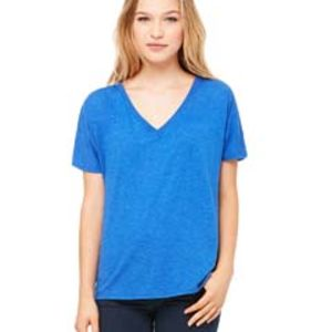 Bella + Canvas Ladies' Slouchy V-Neck T-Shirt Thumbnail