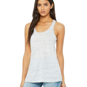 Sublimatable Bella + Canvas Ladies' Flowy Racerback Tank Thumbnail