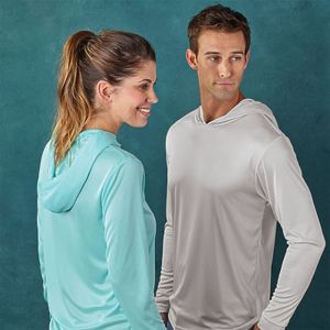Sublimatable Paragon Bahama Long Sleeve Hoodie T Thumbnail