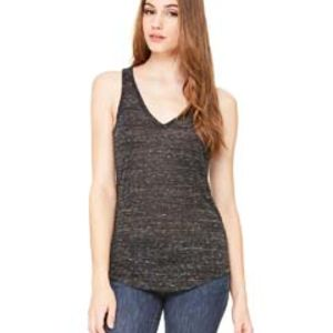 Sublimated Ladies' Flowy V-Neck Tank Thumbnail