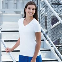 Sublimated Ladies V-Neck Performance Tee Thumbnail