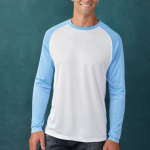 Paragon Contrast Long Sleeve Raglan T-shirt Thumbnail