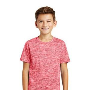 Sublimated Youth Multi-Color Electric Heather Tee Thumbnail