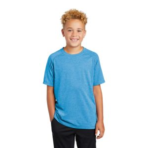 Youth Sublimated PosiCharge Tri Blend Wicking Raglan Tee Thumbnail