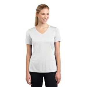 Sublimatable Ladies PosiCharge Competitor V Neck Tee Thumbnail