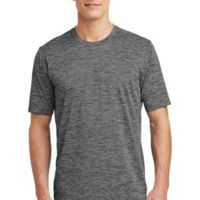 Multi-Colors Sublimatable PosiCharge Electric Heather Tee Thumbnail