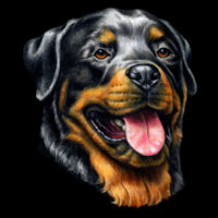 Rottweiler Dog - Mermaid Sequin Pillow Design