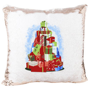 Mermaid Pillow with Christmas Three Gift  Thumbnail